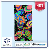 double sided beach towel size