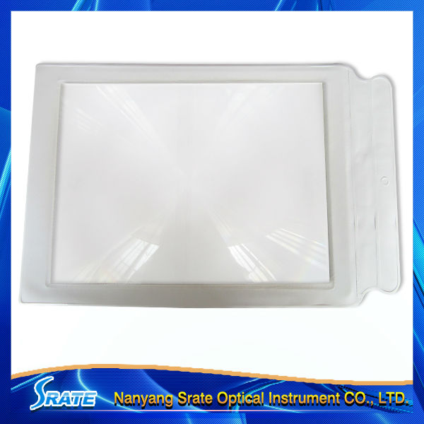 CY-059S Flexible Plastic Page Magnifying Sheet