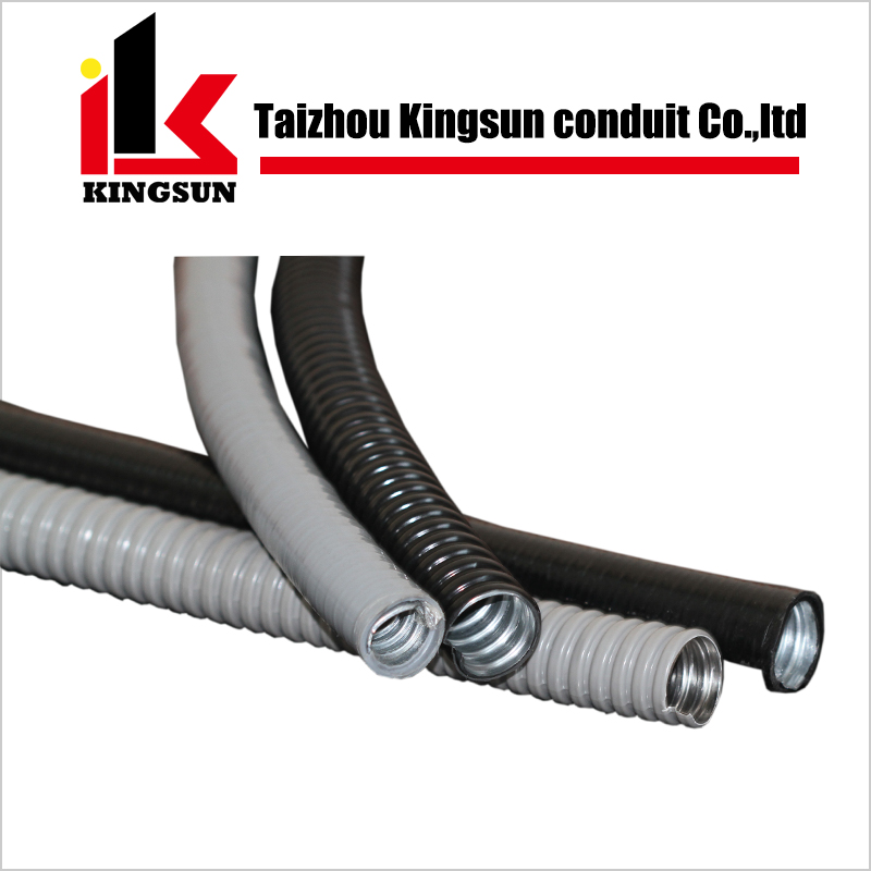 "1/2"" Water Repellent PVC Coated Flexible Metal Conduit"