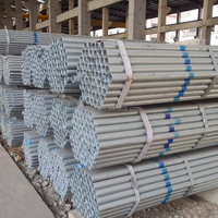 Round Section Shape and Hot Rolled Technique galvanized steel pipe/carbon steel structural black or galvanized ms