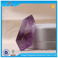 HJT Amethyst Quartz Crystal Glass Power Points Wholesale