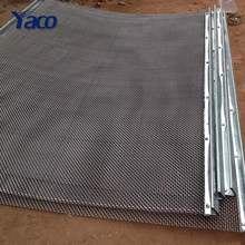 Raw Material 16x16 Crimped Woven Wire Mesh For agricultural
