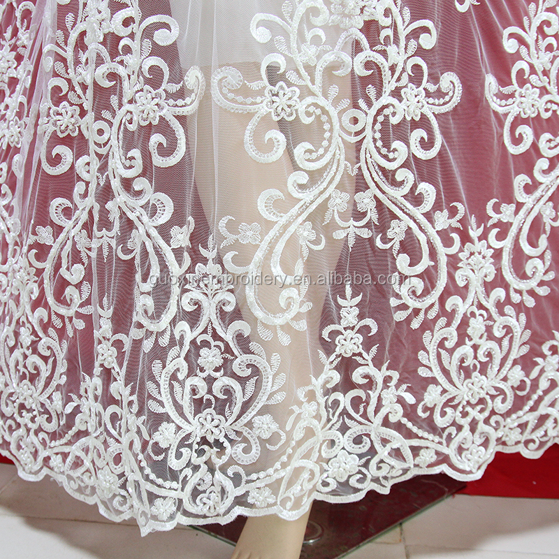 Ivory Wedding Dress Bridal Gown Lace Appliques Ball Gown Dresses Lace for 2019