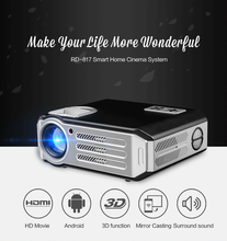 HDMI/USB Interface 3200 Lumens multimedia 3d dlp projector RD-817