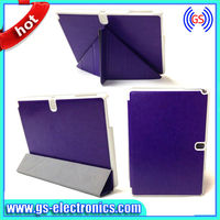 Best Sell Leather Back Case for Samsung Note 10.1/ Special Designs Case for Samsung N8000