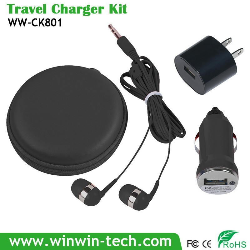 2016 hot selling outdoor trip 3 in 1 charging cable