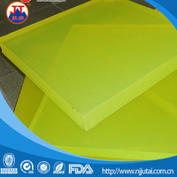 Transparent hardness Shore A80-90 PU plastic sheet