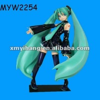 Long Green Hair Gorgeous Resin 3d Sex Girls Anime Figures
