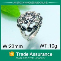 spring hot good quality prong set vietnam silver jewelry