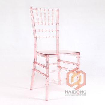 Commercial Resin Chair Chiavari Wedding Furniture
