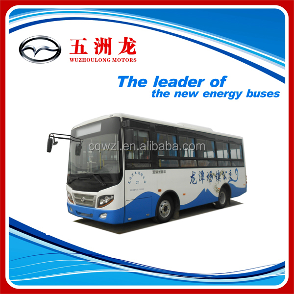 24 seater plastic chair CNG urban bus