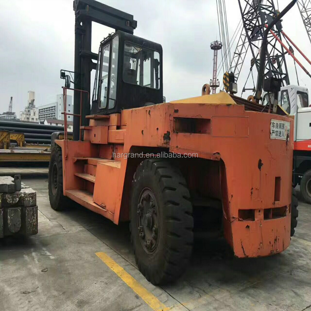 used Komats forklift 25T Japanese forklift good performance 25 tons Japan made hot sale in Shanghai