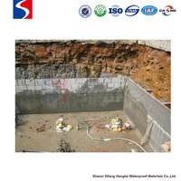 SF Cement Based Crystalline brush and waterproof coating