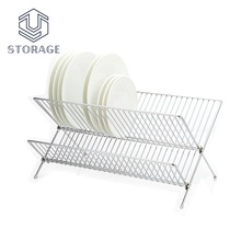 high quality pots and pans rack kitchen drawer plate organizer R&D plate rack cabinet organizer
