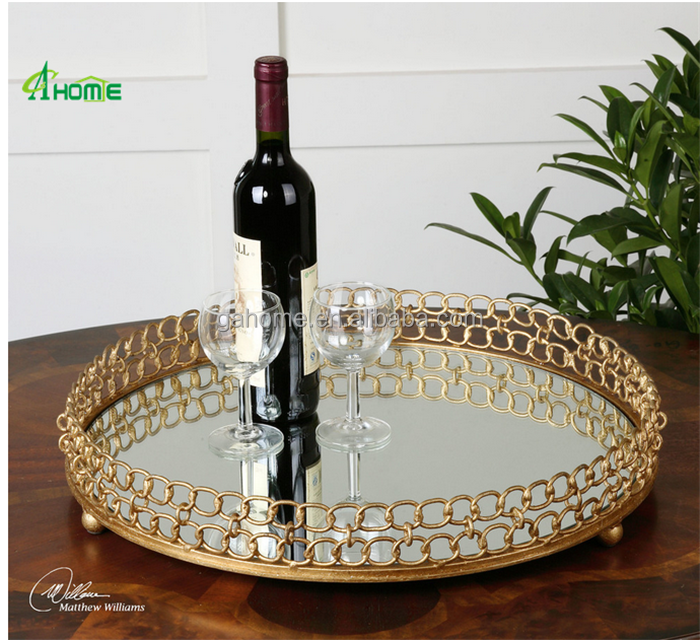 fashion design metal fruit tray for home /hotel/restaurant decoration