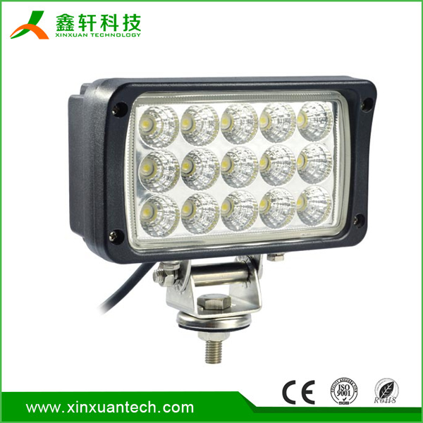 "Good 6 inch Auto Electrical System 45w working lamp 6"" led portable work light for truck/ JEEP/"