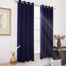 2019 New Curtain Style Room Darkening Window Curtain Insulated Curtain Fabric Blackout
