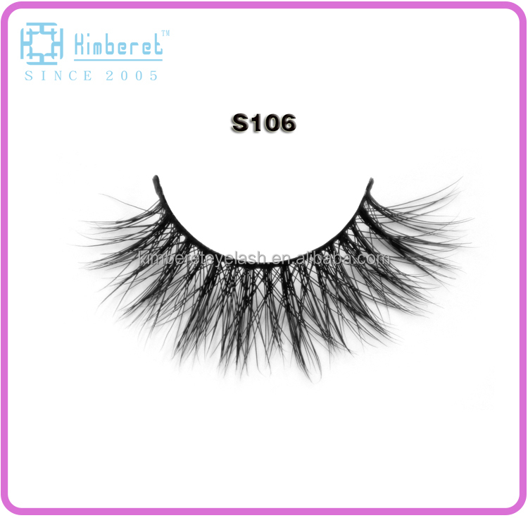 Mink strip eyelashes best sell make up eyelashes wholesale custom eye lash packaging