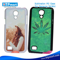 2D pc blank sublimation phone case flip cover for samsung galaxy s4 mini i9190 i9192