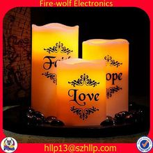 Beijing with CE,ROHS sex candle flameless moving wick led candle