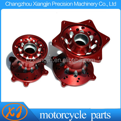 Aluminum CNC Motorcycle Drum Brake Hub