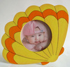 Parachute cartoon frame, wooden baby photo frame, picture frame
