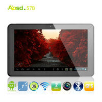 Cheap 3g tablet pc 7 inch MTK8377 Dual Core 1G 8G Android 4.1 GPS/ Bluetooth/ Phone Call/ TV