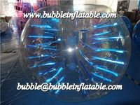 football bubble, bubble suits with reflective sticker strings B1077
