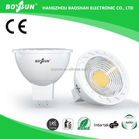 Low Power Consumption MR16/GU5.3 Lamp Holder AC/DC 12V 3W 5W 6W led spotlight ra>95