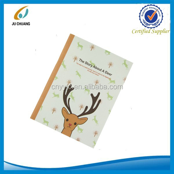 Small cute paper notebook for children