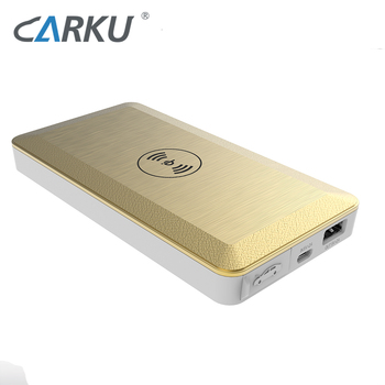 CARKU 6000mah car jump start 2020 wireless power bank charger for mobile phone
