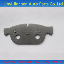 High quality hyundai coupe car parts brake pad back plate low price flat surface