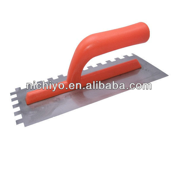 Notch Plastering Trowel With Plastic Handle - D2510S