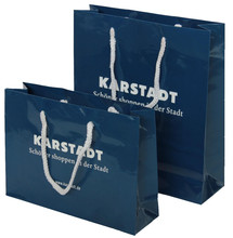 customized 2015 hot sell shopping paper bag