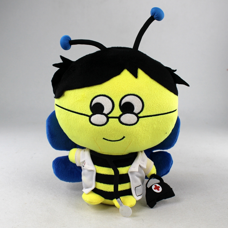 OEM New Best Plush honey Bee Toy Stuffed Animal Bee Plush soft toy