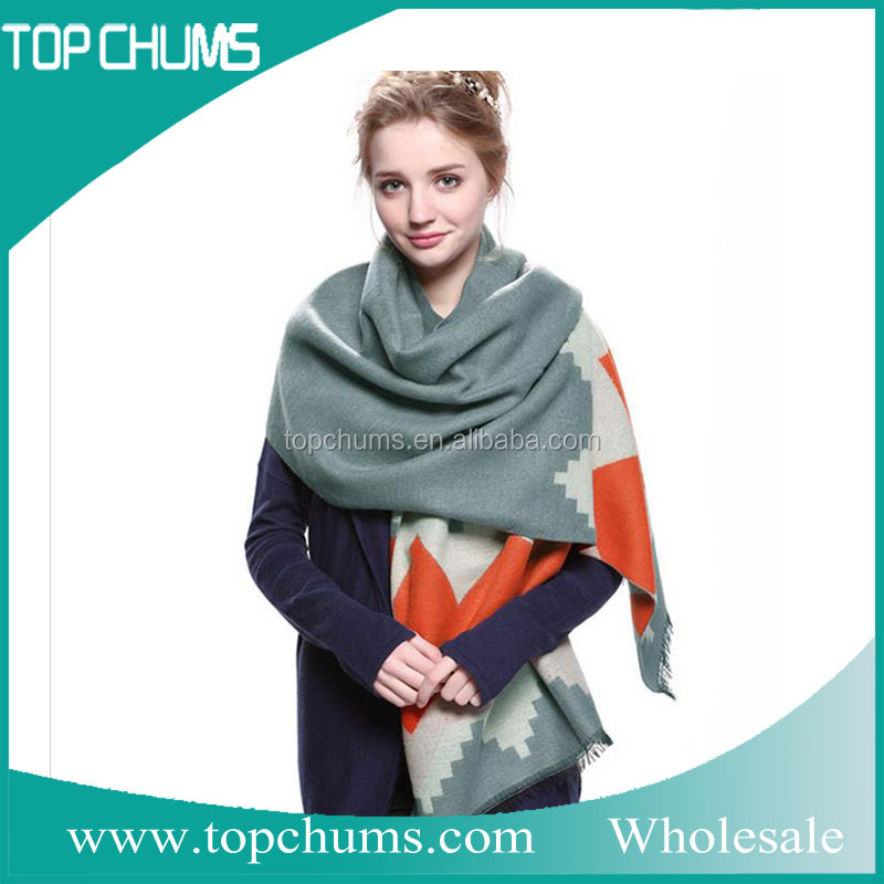Scarf manufacturer cheap promotional wholesale kashmiri stoles and shawls