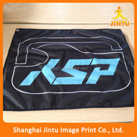 cheap custom made polyester flag and banner