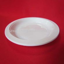 plastic plates that look like china