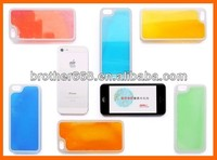 hard pc+ABS phone case, low price material glowing in dark phone case for mobile phone case