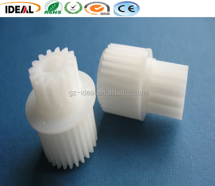 China Manufacturer Custom POM Plastic Double Spur Gear