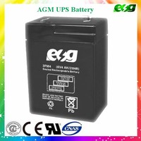 6v rechargeable battery 4ah Lead acid battery