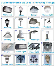 Factory price E39 base 125w led corn bulb street light 450w metal halide led replacement