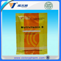 Pharmaceutical drug and medicine vitamin b complex
