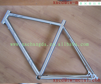 titanium road bike frame factory direct supply titanium bike frame titan road bike frame