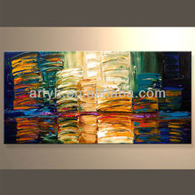 Popular Handpainted Fashion Abstract Art Picture For Decor In Discount Price