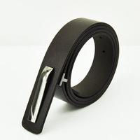 Wholesale western designer custom logo PU leather men's belts strap
