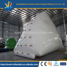 Hot selling inlatable water games inflatable ice berg climbing wall