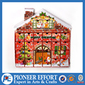 Decorative paper christmas advent calendar countdown candy box