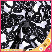 Latest designs Comfortable Cheap price For clothing flock material