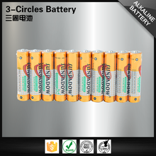 China manufacturer 1.5v am4 lr03 primary alkaline aaa battery
